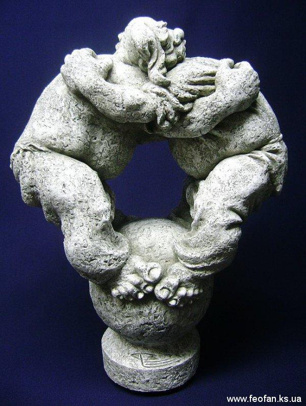 Танок Життя. Искусственный камень. Н-45см. 2010г.